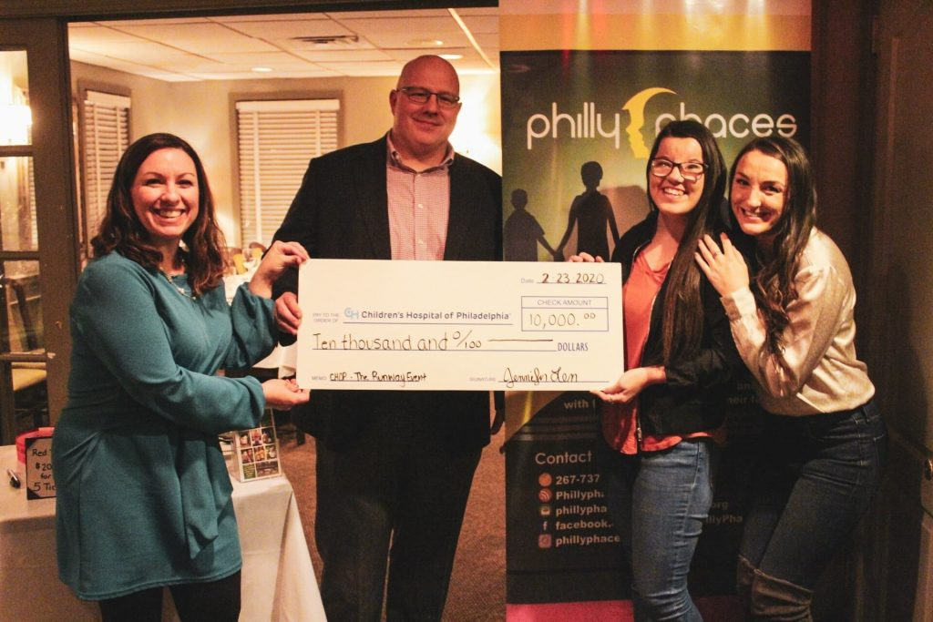 Childrens Hospital of Philadelphia Donation to Philly Phaces Board of Directors